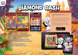 Wooga Diamond Dash for Android