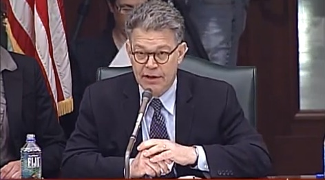 Sen. Al Franken (D-MN)  is at least pushing the discussion of new privacy concerns