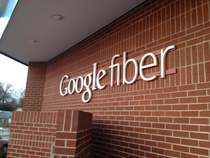 Google Fiber brick