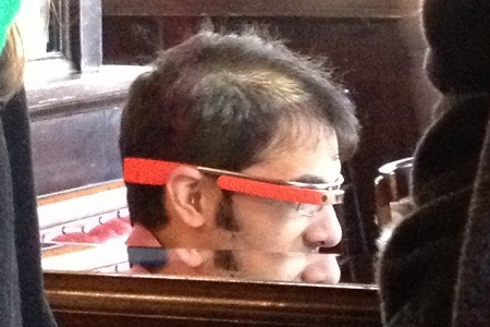 Google Project Glass in NYC