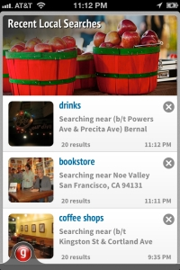 Grokr, mobile search