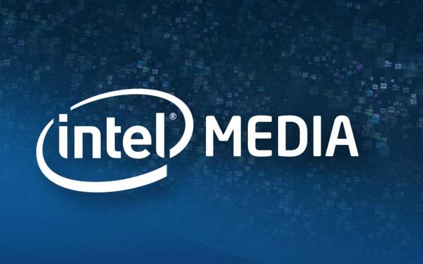 intel media logo