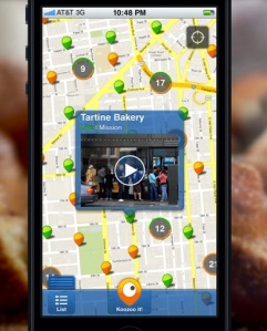 Koozoo's app provides live streams of public places.