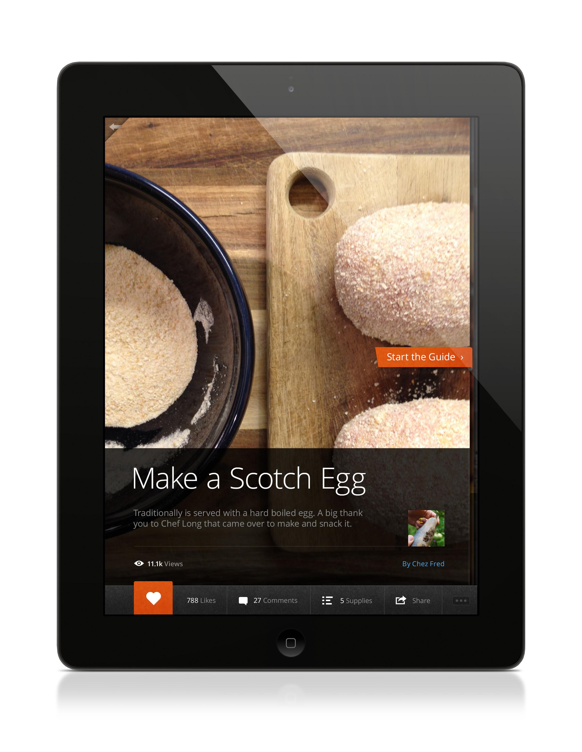 Snapguide iPad