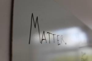 Matter startup accelerator launch image