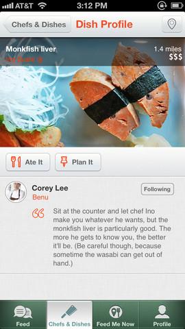 Chefs Feed Screenshot