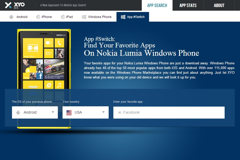 Nokia App Switch
