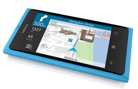 Nokia Lumia 800 Drive Navigation Maps