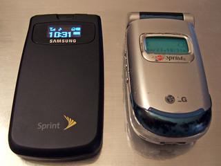 old sprint phones