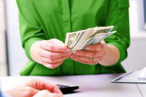 PayPal, cash, pre-paid