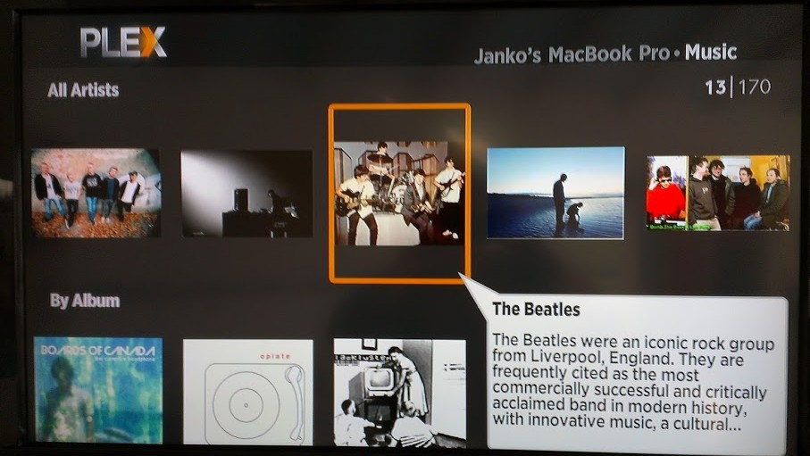 Plex is great to access personal media stored on your home PC - including your music collection.