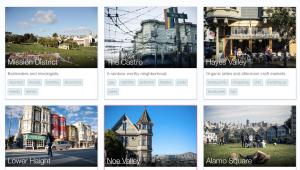 Airbnb neighborhoods San Francisco screenshot
