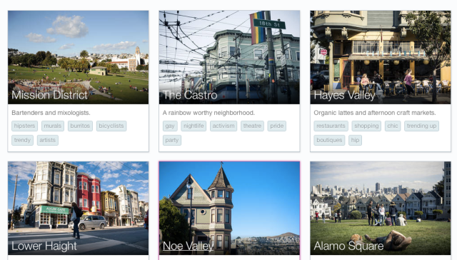 Airbnb neighborhoods San Francisco screenshot