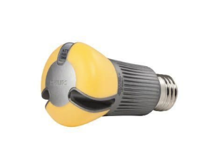 Good bye to Philips yellow, groove-laden LED bulb.