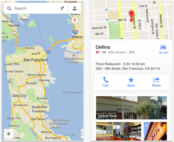 Google Maps for iOS 6