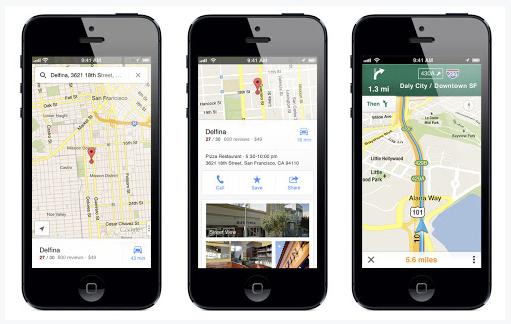 Google Maps iOS 6