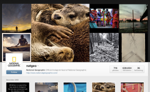 National Geographic Instagram suspended account terms of service