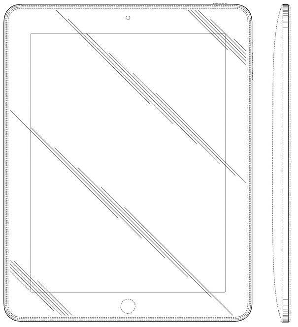 apple ipad design patent screenshot