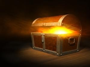 Pandora box, treasure
