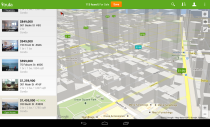 Trulia Screenshot Google Maps API