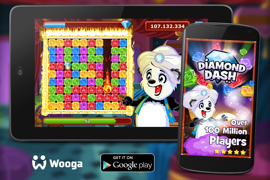Wooga Diamond Dash Android
