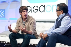 Mobilize 2012: Om Malik - Founder and Senior Writer, GigaOM Dennis Crowley - Co-Founder and CEO, foursquare