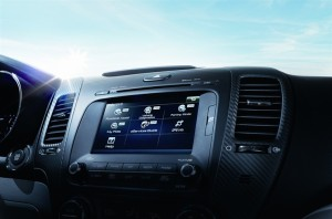 KIA UVO connected car