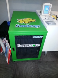 A purpose-built Hadoop appliance from SuperCloud.