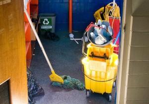 Janitor closet