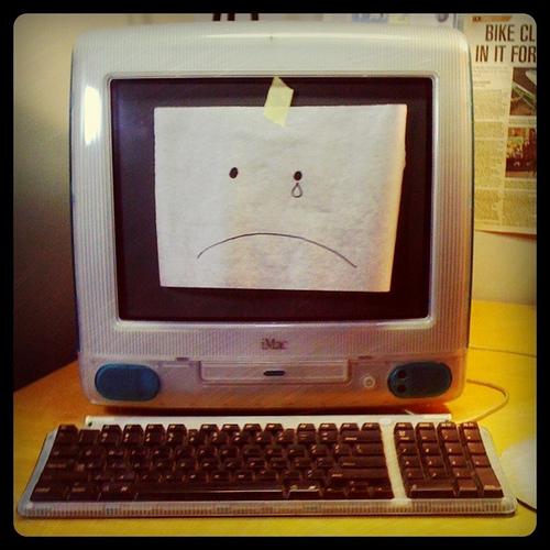 sad Mac / PC / computer