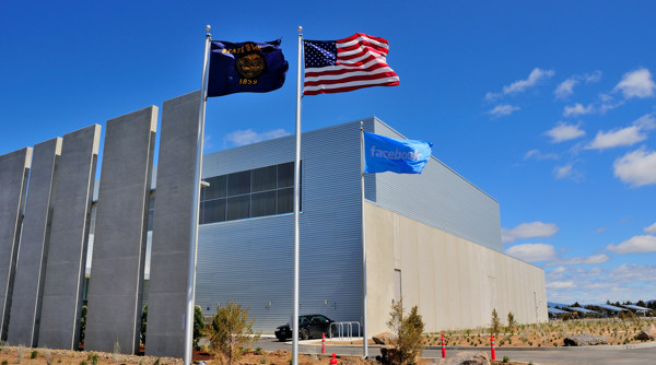 Facebook data center in Prineville, Ore.