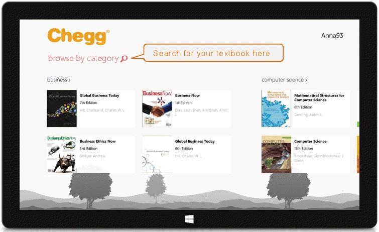 Chegg Windows 8