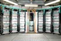 Computer cluster server room