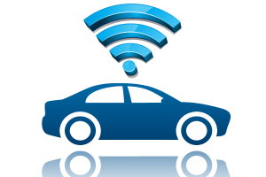 connected car logo