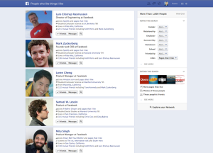 Facebook graph search people