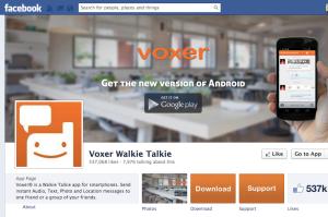 Facebook Voxer