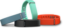 fitbit flex wristband connected device