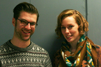 Matt Ogle and Hannah Donovan of This Is My Jam
