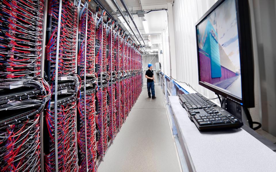OVH.com server racks
