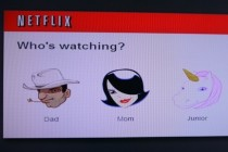 Netflix profiles feature art