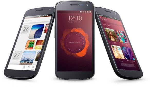 Ubuntu smartphone Galaxy Nexus