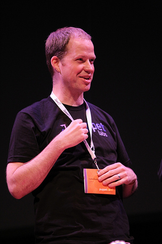 Puppet Labs CEO Luke Kanies
