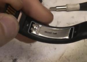 Nike FuelBand battery