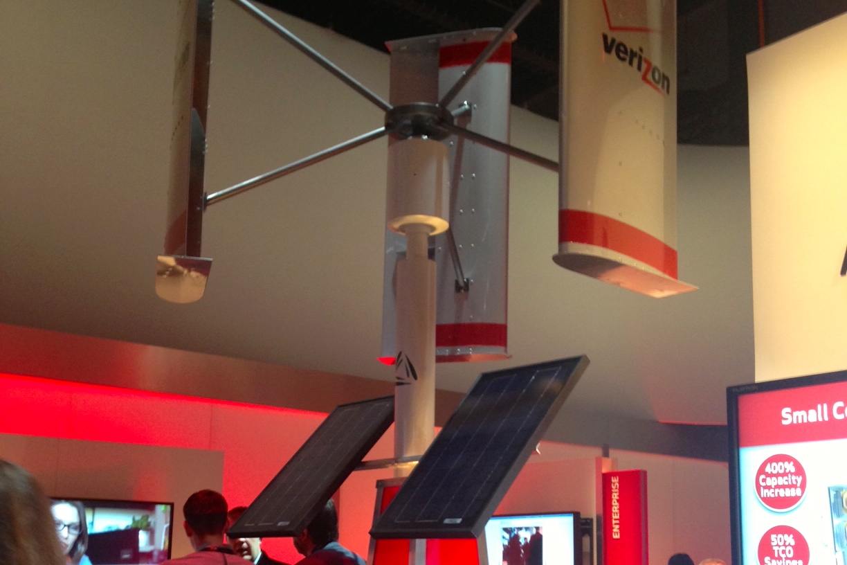 Verizon turbine