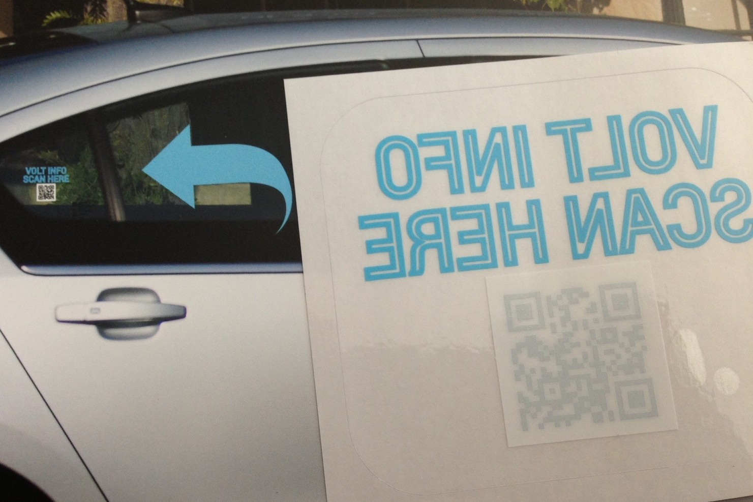 Volt QR code