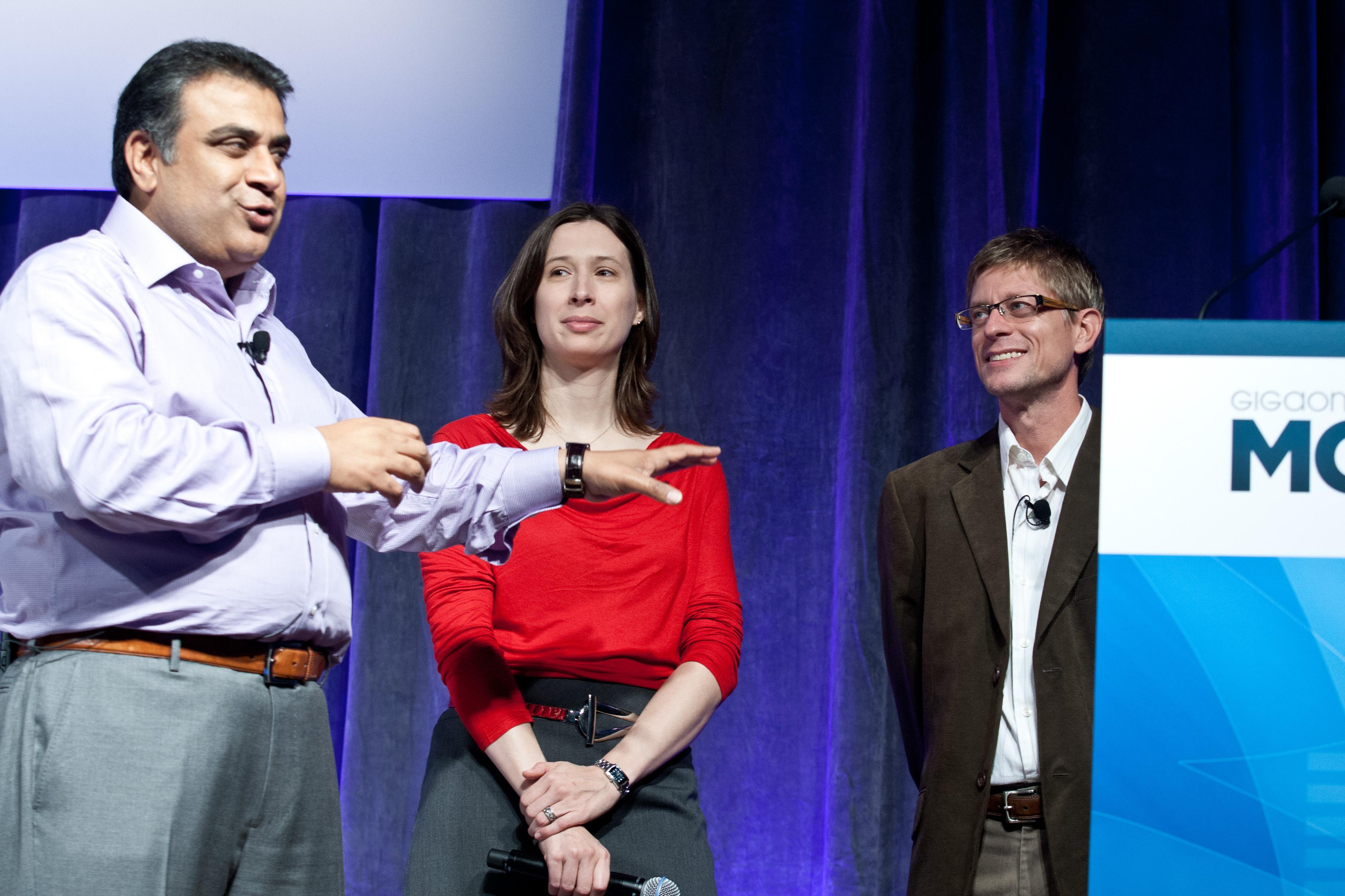 Mobilize 2011: Om Malik – Founder, GigaOM; Stacey Higginbotham – Senior Writer, GigaOM; Kevin Tofel – Senior Writer, GigaOM