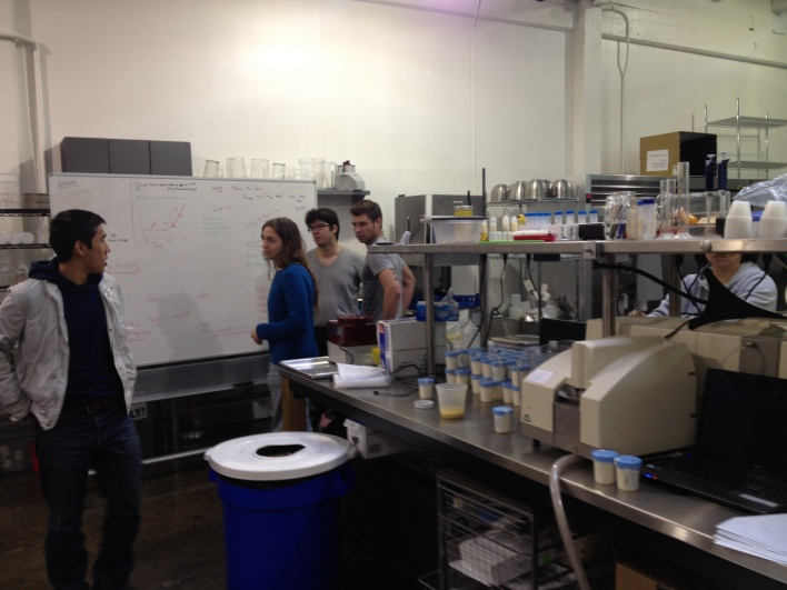 The lab of Hampton Creek Foods