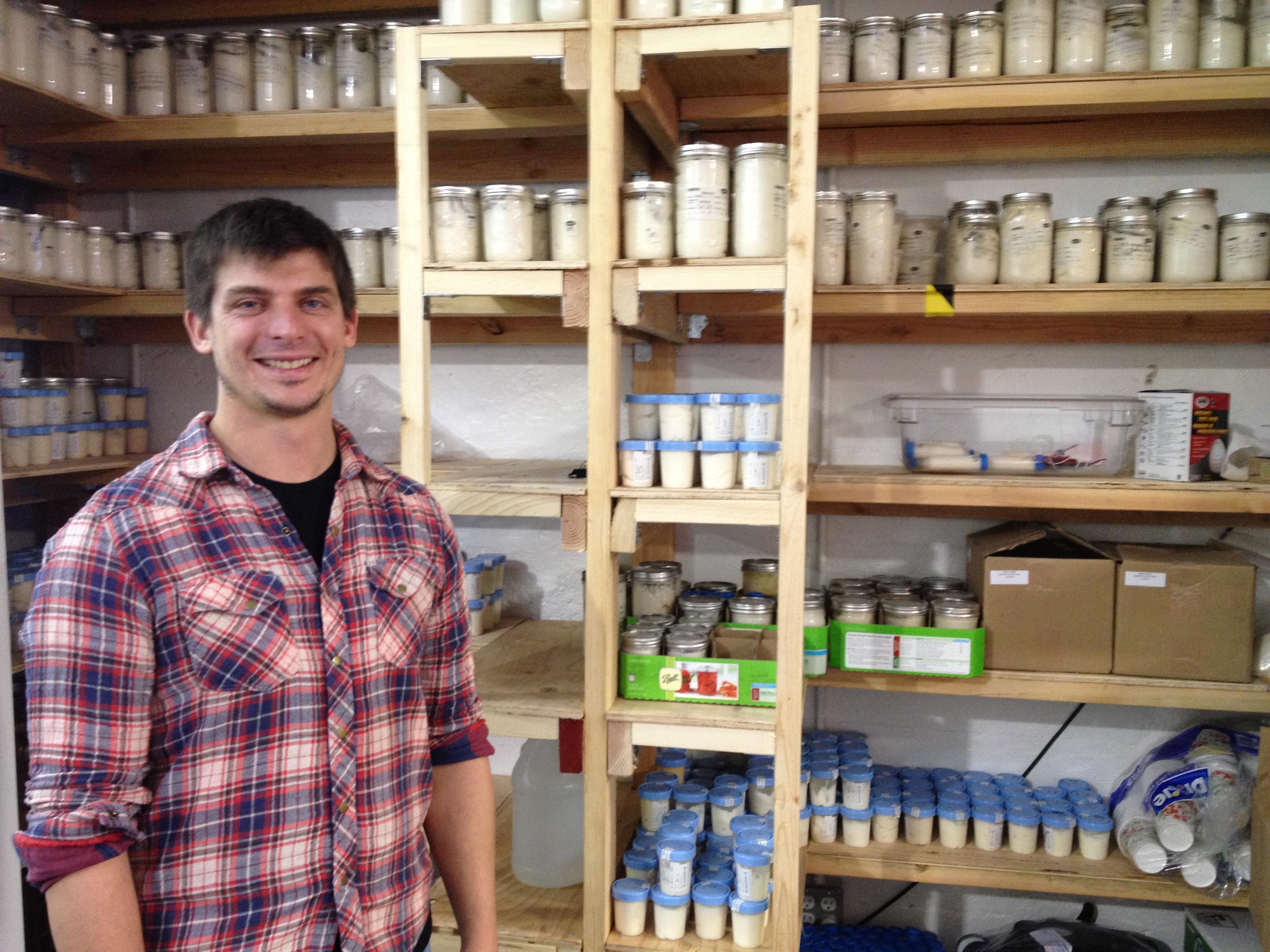 Josh Tetrick, the CEO of Hampton Creek Foods, image courtesy of Gigaom, Katie Fehrenbacher