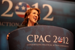 Former HP CEO Carly Fiorina