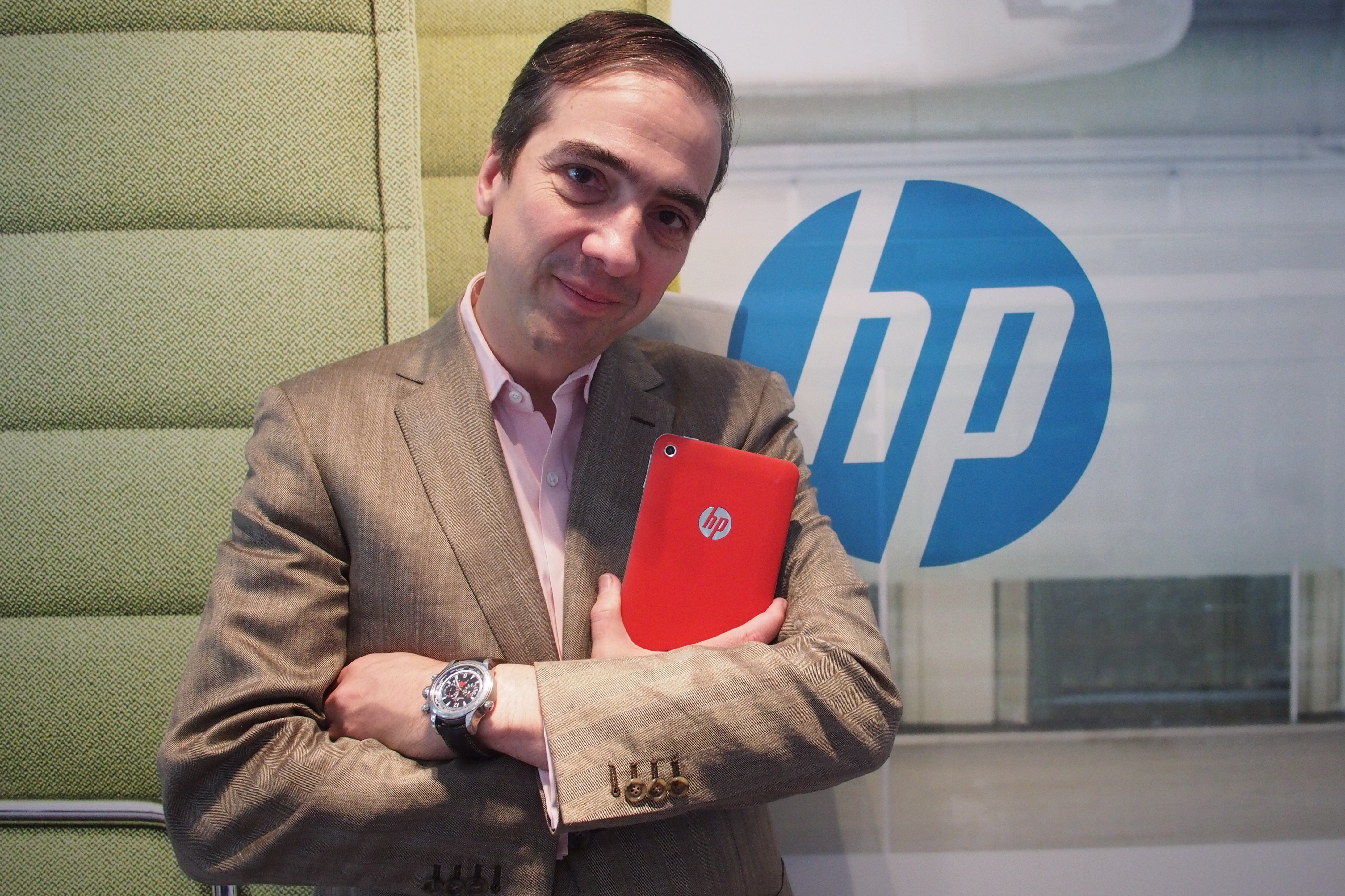 HP mobility chief Alberto Torres